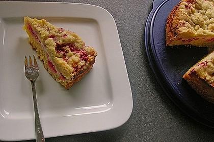 Ribisel-Topfen Kuchen mit Streusel 13