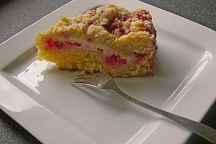 Ribisel-Topfen Kuchen mit Streusel 28
