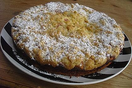 Ribisel-Topfen Kuchen mit Streusel 32
