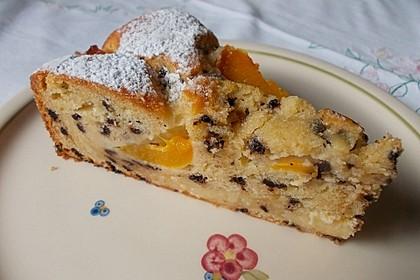 Ameisen-Marillenkuchen mit Puddingfüllung 10