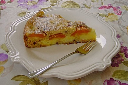Ameisen-Marillenkuchen mit Puddingfüllung 34