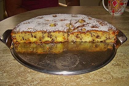 Ameisen-Marillenkuchen mit Puddingfüllung 40