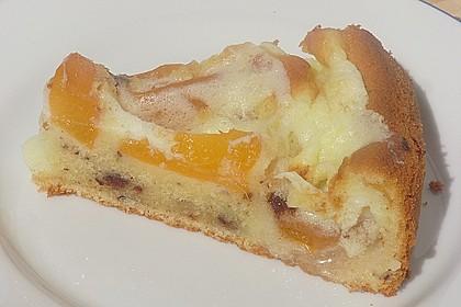 Ameisen-Marillenkuchen mit Puddingfüllung 32