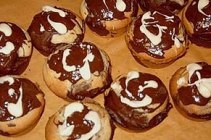 Schwarz - Weiß - Muffins 3