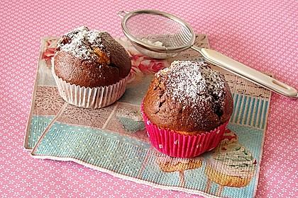 Schwarz - Weiß - Muffins