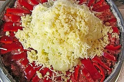 Blumenkohl im Hackfleischring 36