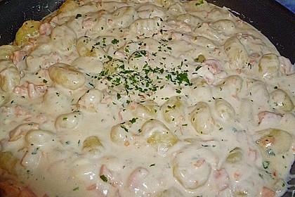 Schnelle Lachspfanne mit Gnocchi 6