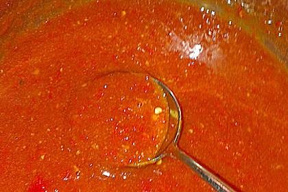 Süß - sauer - scharfe Sauce 4