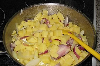 Chinakohl - Kartoffel - Eintopf 8