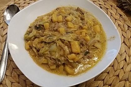 Chinakohl - Kartoffel - Eintopf 4