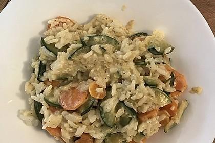 Sahniges Karotten - Zucchini - Gemüse 5