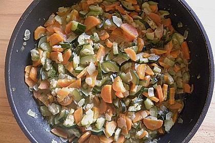 Sahniges Karotten - Zucchini - Gemüse 6