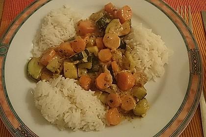 Sahniges Karotten - Zucchini - Gemüse 4