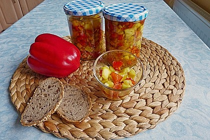 Eingelegte Zucchini 1