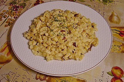 Appenzeller Käsespätzle 1