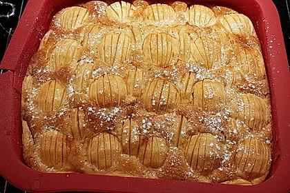 Einfacher versunkener Apfelkuchen 43