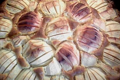 Einfacher versunkener Apfelkuchen 63