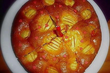 Einfacher versunkener Apfelkuchen 42