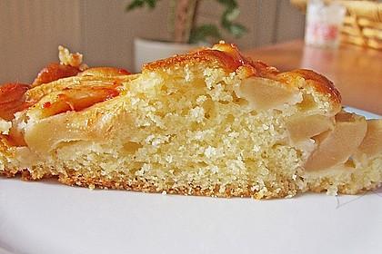 Einfacher versunkener Apfelkuchen 35