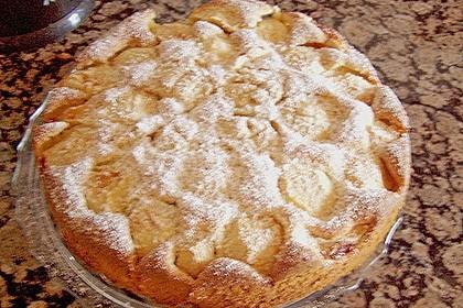 Einfacher versunkener Apfelkuchen 60