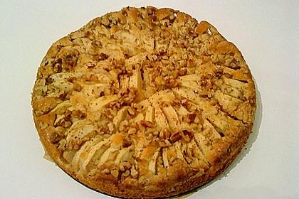 Einfacher versunkener Apfelkuchen 61