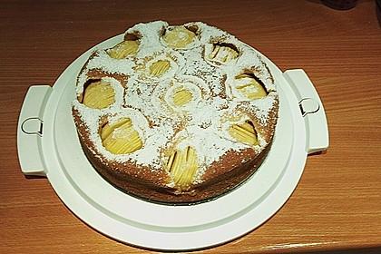 Einfacher versunkener Apfelkuchen 22