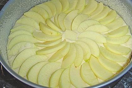 Einfacher versunkener Apfelkuchen 67