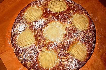 Einfacher versunkener Apfelkuchen 7