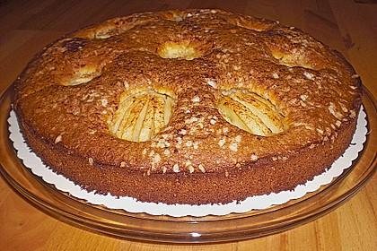 Einfacher versunkener Apfelkuchen 39