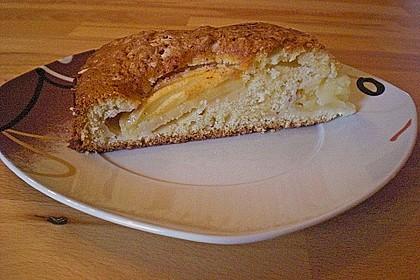 Einfacher versunkener Apfelkuchen 56