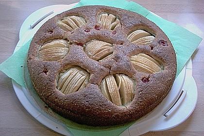 Einfacher versunkener Apfelkuchen 34