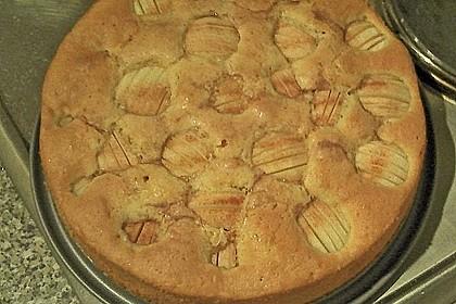 Einfacher versunkener Apfelkuchen 62