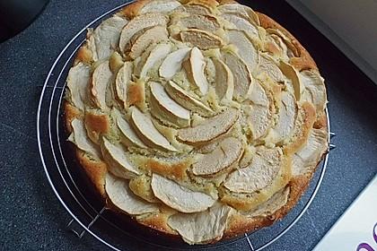Einfacher versunkener Apfelkuchen 36
