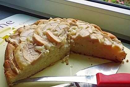 Einfacher versunkener Apfelkuchen 30