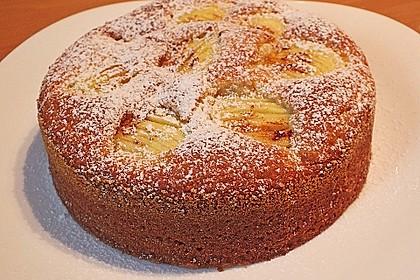 Einfacher versunkener Apfelkuchen 3