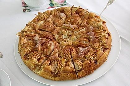 Einfacher versunkener Apfelkuchen 28