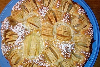Einfacher versunkener Apfelkuchen 51