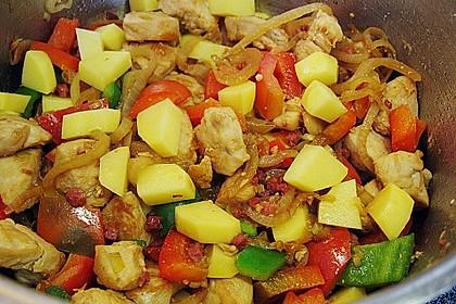 Bohnen - Kartoffel - Eintopf mit Hähnchenbrust 3