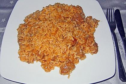Serbischer Reis mit Kalbfleisch