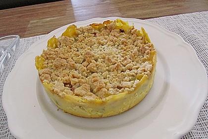 Rhabarberkuchen mit Vanillecreme und Streusel 118