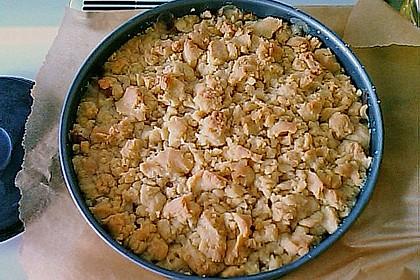 Rhabarberkuchen mit Vanillecreme und Streusel 214