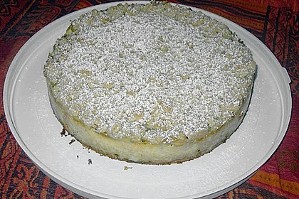 Rhabarberkuchen mit Vanillecreme und Streusel 163