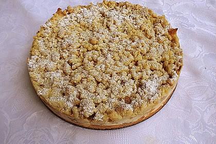 Rhabarberkuchen mit Vanillecreme und Streusel 93