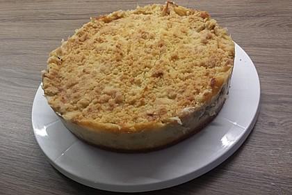 Rhabarberkuchen mit Vanillecreme und Streusel 41