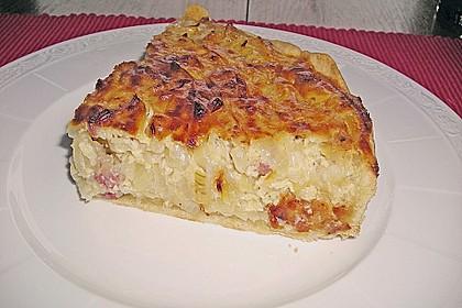 Schwäbischer Zwiebelkuchen mit Speck 1