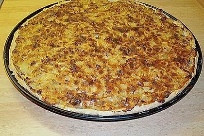 Schwäbischer Zwiebelkuchen mit Speck 14