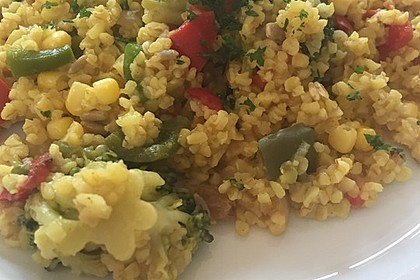 Ancillas orientalischer Couscous Salat 6