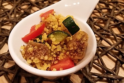 Ancillas orientalischer Couscous Salat