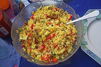Ancillas orientalischer Couscous Salat 1