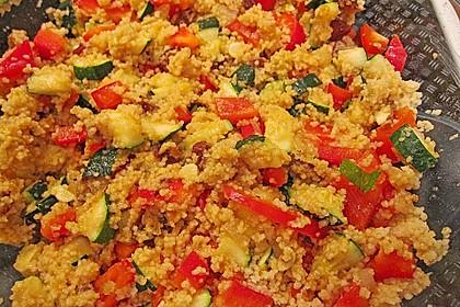 Ancillas orientalischer Couscous Salat 4